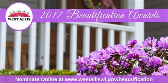 Beautification Awards