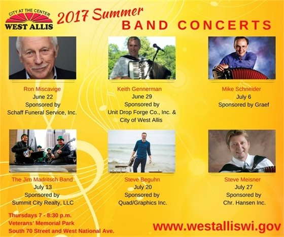 Summer Band Concerts