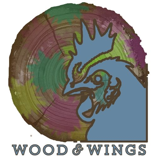 Wood & Wings Event Logo
