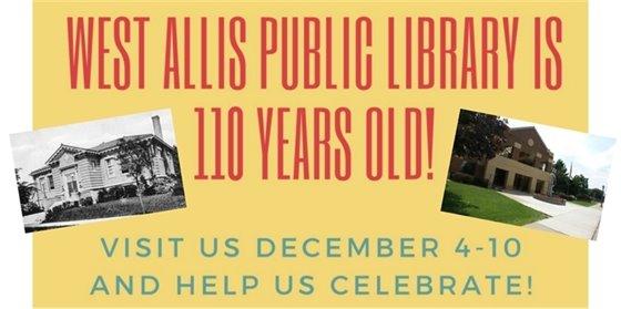 Library 110 Anniversary