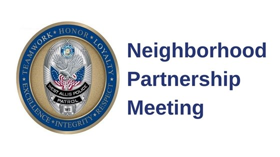 Neighborhood Partnership Meeting