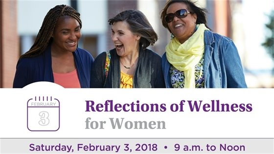 Reflections of wellness for women