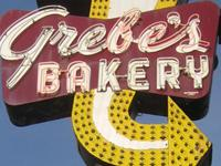 Grebe's Bakery Sign