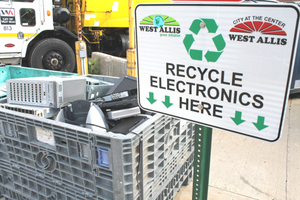 photo of west allis ecycling drop off