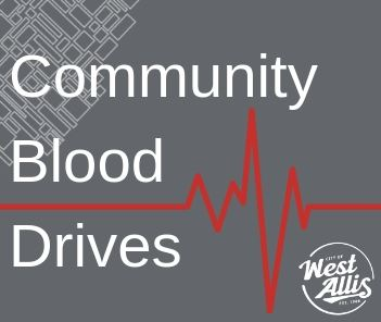 Community Blood Drives Graphic