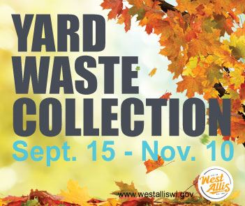 fall yard waste collection 2019