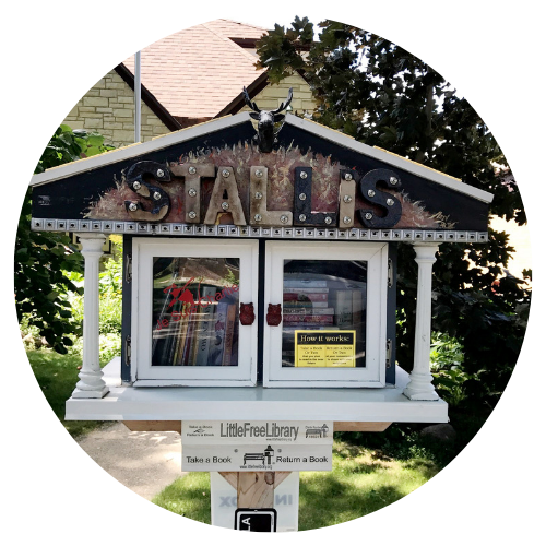 Little Free Library in West Allis Photo Opens in new window