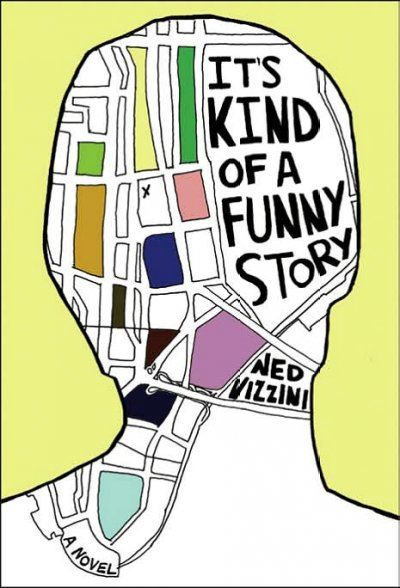 Book Jacket for ts Kind of A Funny Story book by Ned Vizzini